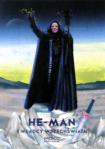 Przód ulotki filmu 'He-Man i Władcy Wszechświata'