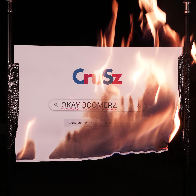 CruSz Okay Boomerz EP cover artwork