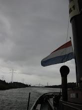 Photo: Op het Amsterdam-Rijnkanaal