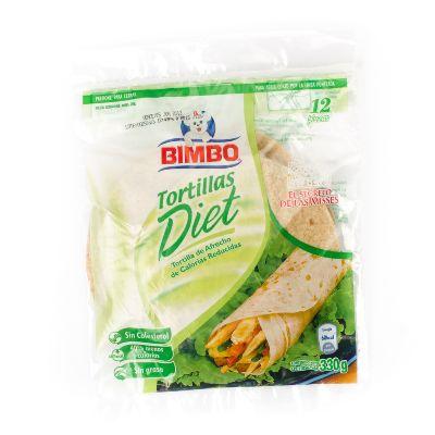 Tortillas Bimbo Diet 12Und