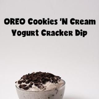 OREO Cookies 'n Cream Yogurt Cracker Dip.