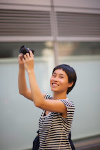 Photo: Patricia with her Ricoh GRD-IV