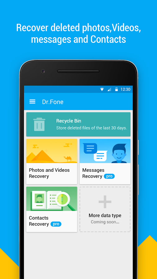 Dr.Fone - Recover deleted data – Applications Android sur ...