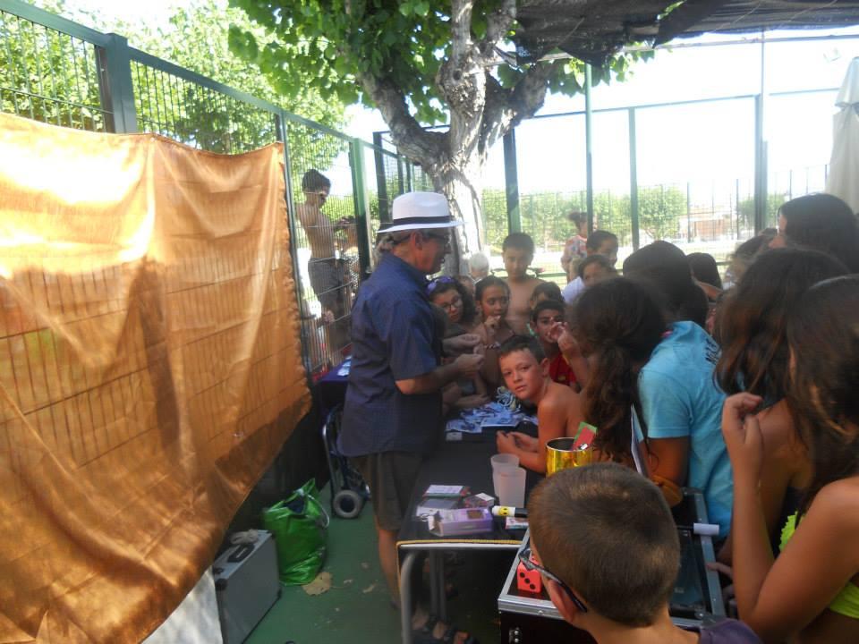talleres para niños en piscina Cebreros