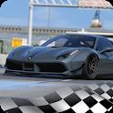 Ferrari 488 Parking Driving School academy racing icon