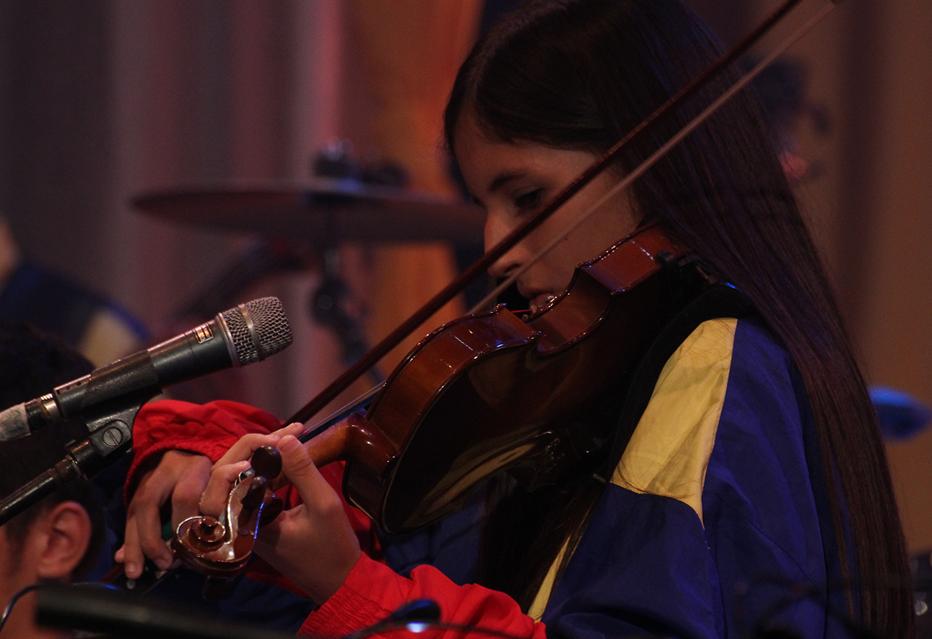 La musica venezolana formó parte de este mágico concierto.