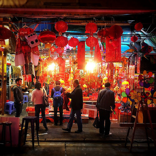 Chinese New Year, decorations, Shop, 農曆新年, 舖頭, hong kong