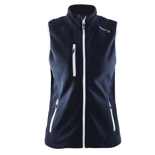 Craft Fleece Vest, Dam , Storlek: XL, Färg: Dark Navy