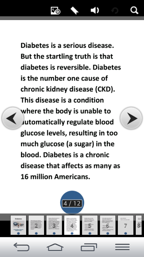 Diabetes- screenshot