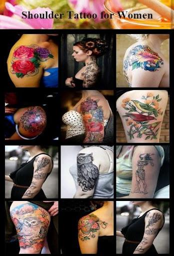 Shoulder Tattoo for Women