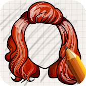 Draw HairStyle