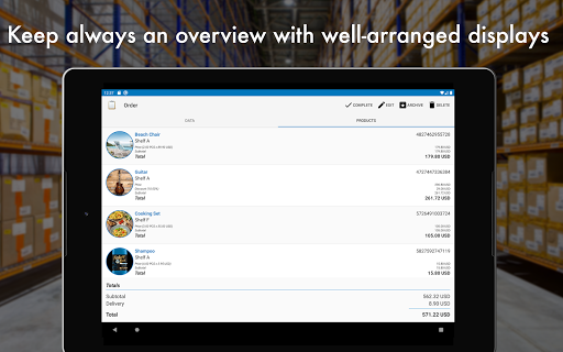 Storage Manager : Stock Tracker screenshot 12