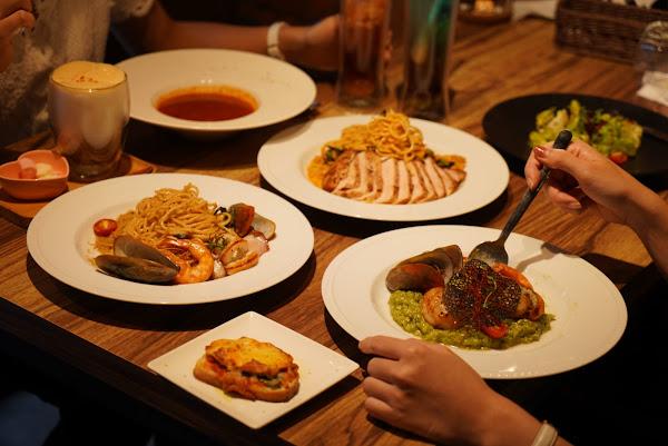 台北美食。水礦Restaurant & Cafe。東區必吃。義大利麵、燉飯料理、輕食下午茶。