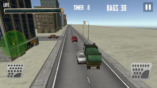 都市ごみトラック運転3D