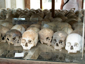 """Photo: Memorial at """"The Killing Fields"""""""