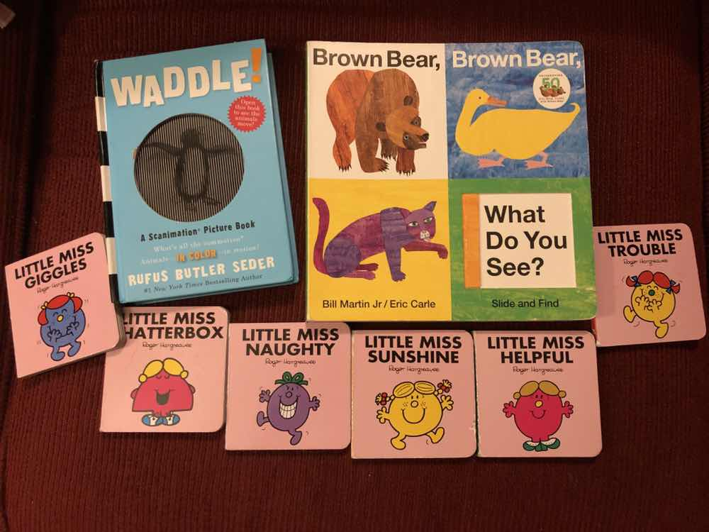 Brown bear brown bear, Little Miss pocketbooks, Waddle