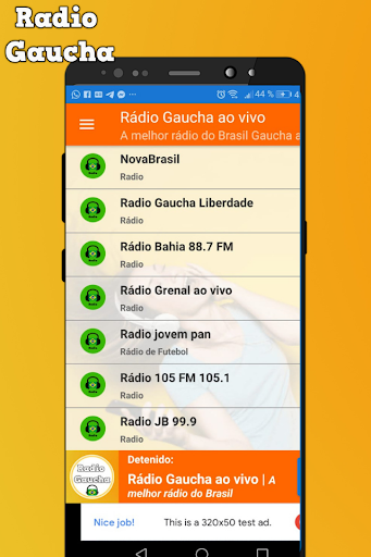 Ru00e1dio Gaucha ao vivo FM 93.7 Brasil AM 600 1.1 screenshots 2