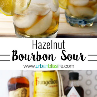 Hazelnut Bourbon Sour