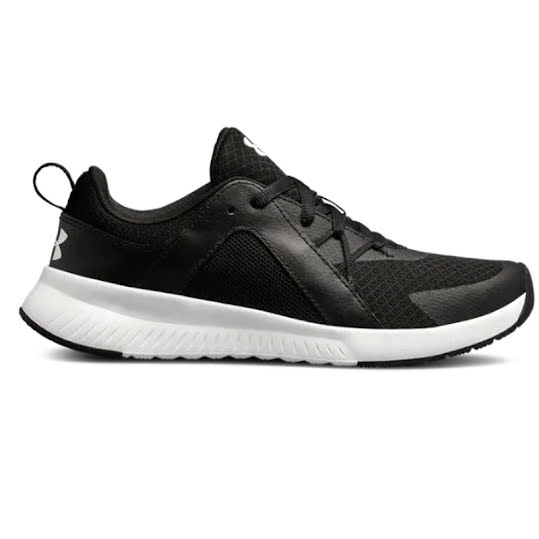 Under Armour Tempo Trainer Woman Black/Black/White Stl: 40 1/2