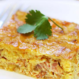 Bacon & Gruyere Egg Casserole