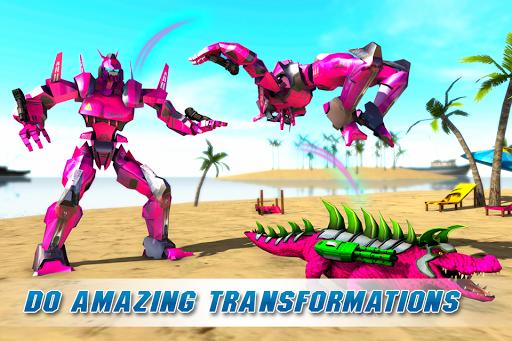 Real Robot Crocodile Simulator- Robot transform 1.0.12 Screenshots 2