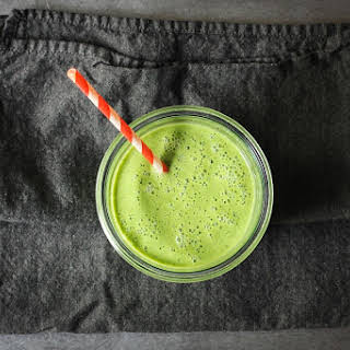 Pear and Arugula Smoothie.
