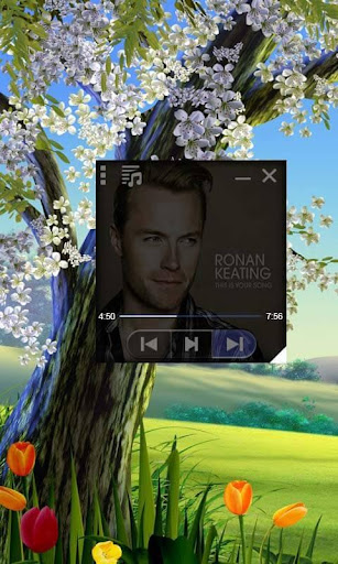 Floating Music Player