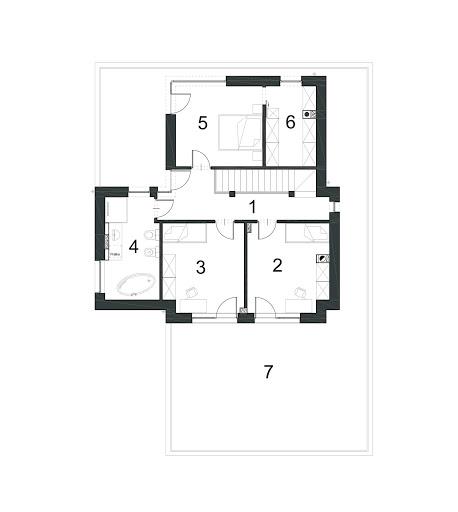 Klasyczny D33 - Rzut piętra