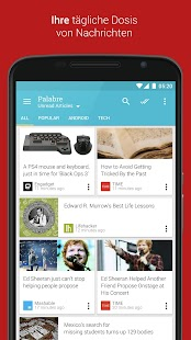 Palabre - Feedly & RSS Reader Screenshot