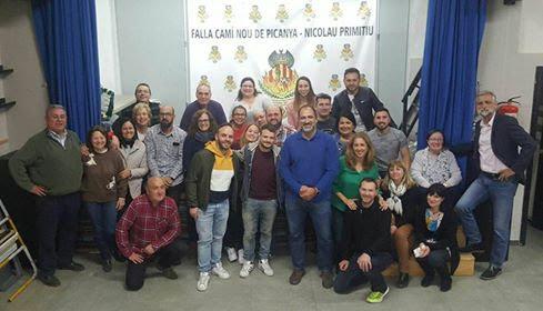 Ceballos y Sanabria artistas falleros infantiles de Camino Nuevo de Picaña