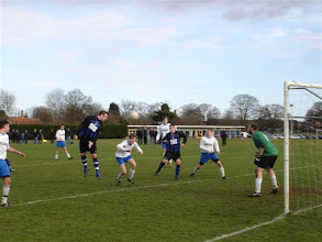 Photo: 25/02/12 v Hykeham Town (Lincolnshire League) 0-1 - contributed by Gyles Basey-Fisher