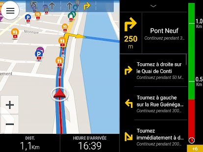 CoPilot France GPS Navigation – Vignette de la capture d'écran