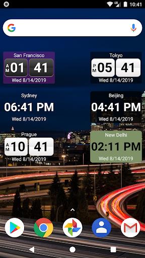 World Clock Widget 4.5.9 screenshots 2