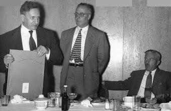 Photo: Ernest Szekely, Bunny Stotesbury, John Fox