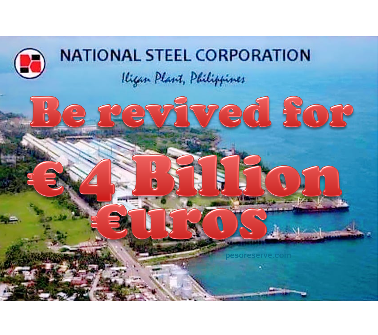 National Steel Corporation (NSC) would be revived for 4 Billion Euros