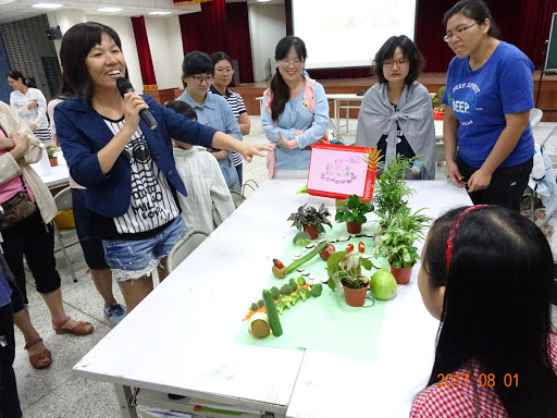 8月1日-8月2日園藝治療研習
