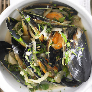 Herbed Mussels