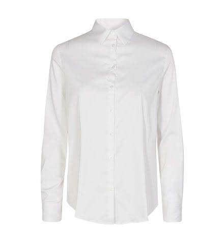 Mos Mosh Martina sustainable shirt white