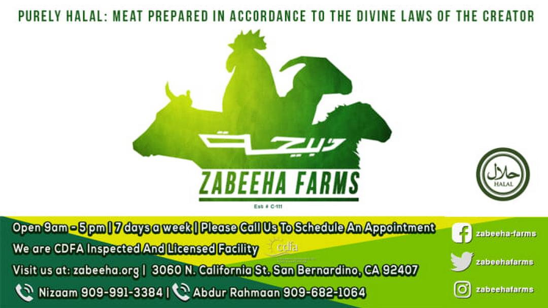 Zabeeha Farms Slaughterhouse - Slaughterhouse in San Bernardino