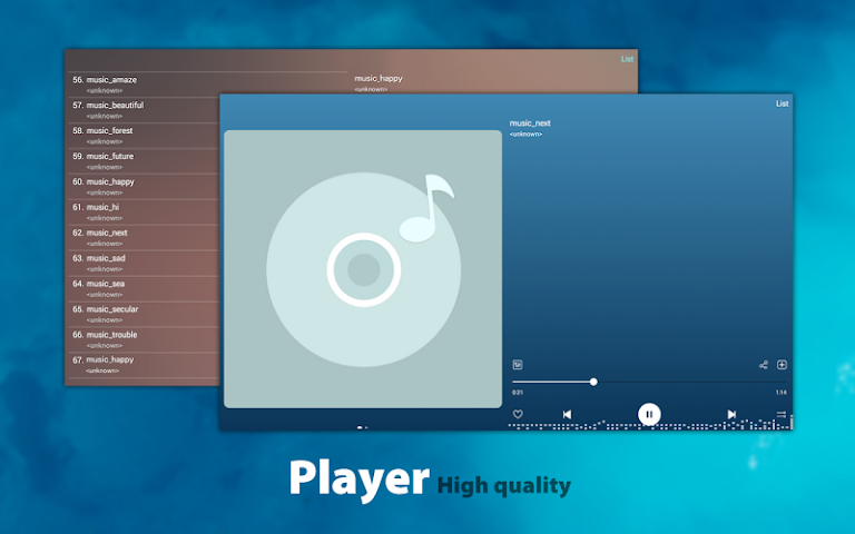 android Music - Mp3 Player Screenshot 3