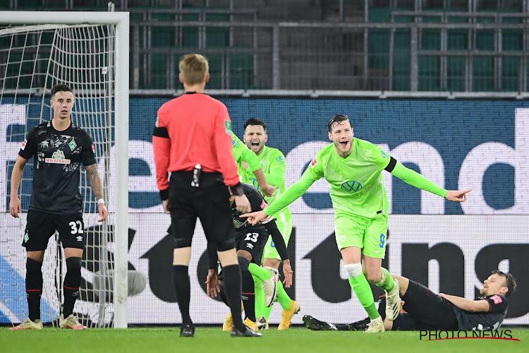 Rondje Europa: Wolfsburg en Werder maken er een doelpuntenfestival van, Doku kan opnieuw niet winnen