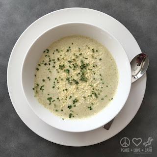 Low Carb Cauliflower and Broccoli Cheese Soup.