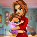 Virtual Mother Working Mom Family Simulator icon