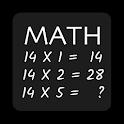 Multiplication Math Game 14X icon