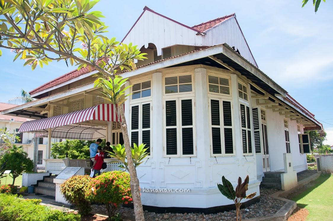 Rumah Bung Karno saat pengasingang di Bengkulu.