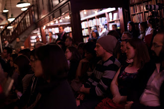 Photo: Standing-room-only crowd in NYC (photo by Spyr Media)