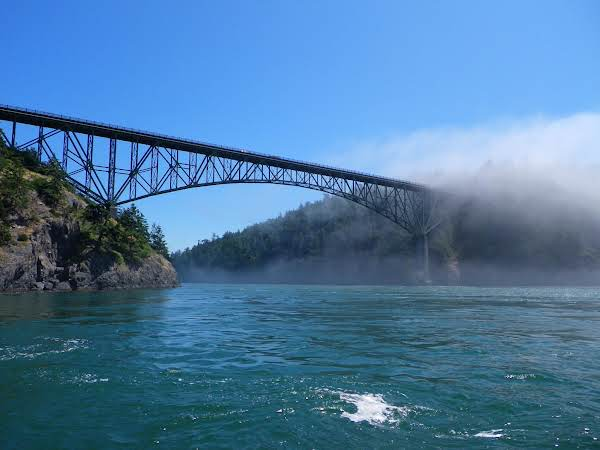 This Is A Picture I Took At Deception Pass In Washington State July 12, 2012.
