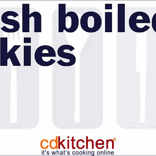 Amish Boiled Cookies Recipes