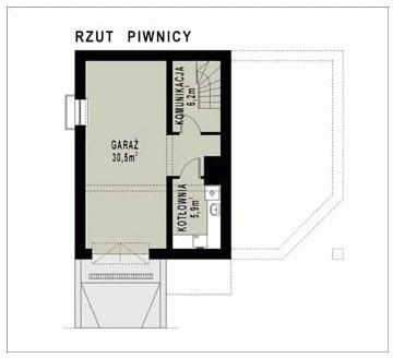 WB-0029 - Rzut piwnicy