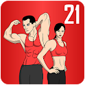 Lose Weight In 21 Days - Home Fitness Workouts icon